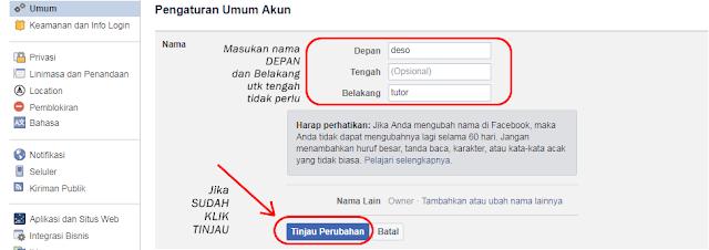 Cara mengganti nama facebook, Cara ganti nama fb unik tanpa proxy, Edit nama fb, Cara ganti nama facebook tanpa batas, Cara ganti nama fb blank
