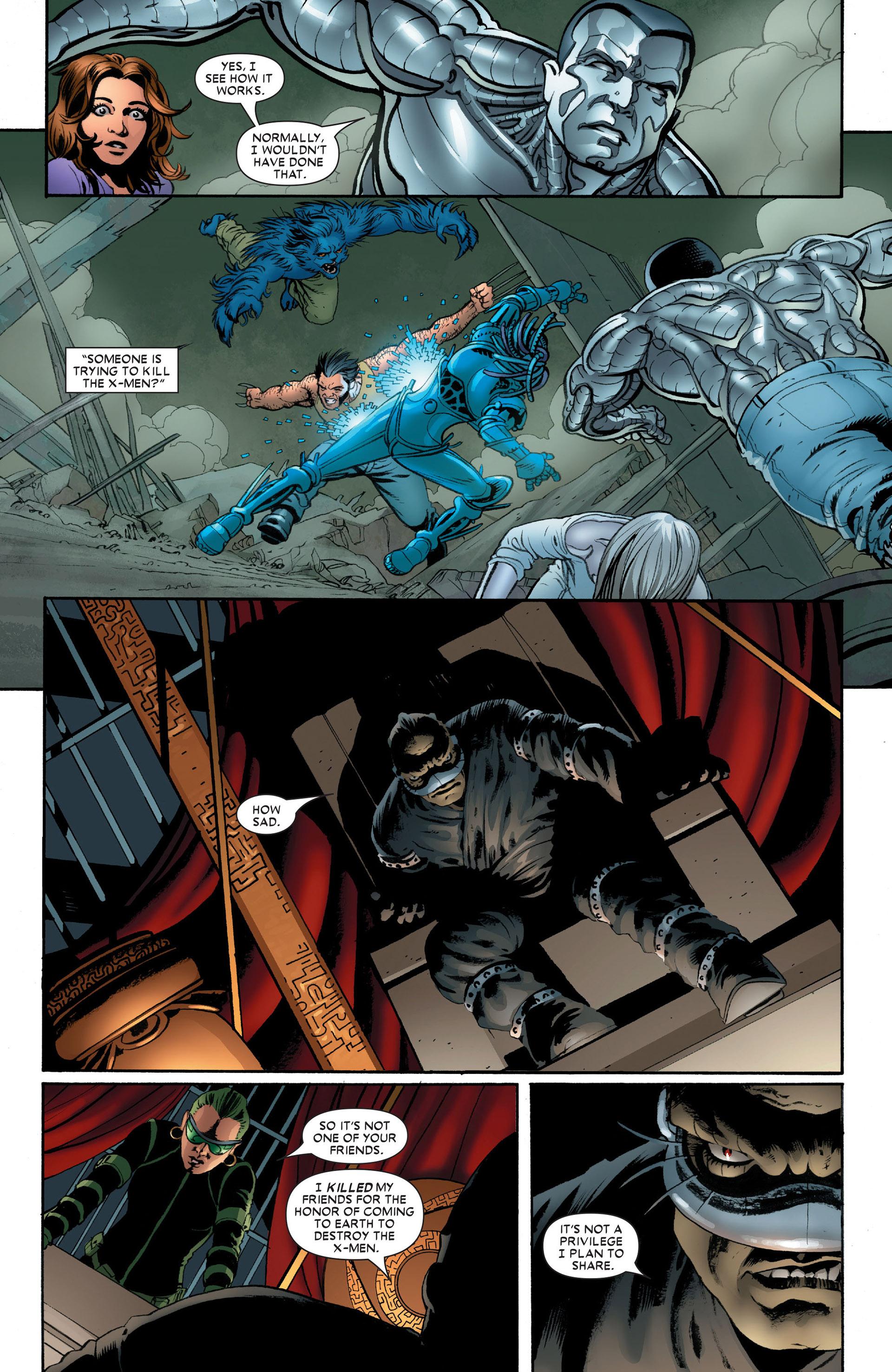 Read online Astonishing X-Men (2004) comic -  Issue #10 - 18