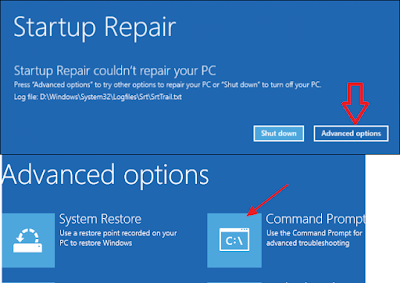 How to Fix Windows Stuck on Bootloader in Windows 10/8.1 (No Media USB & DVD),how to repair windows 10 startup issues,windows not loading,how to fix stuck on start screen,repair windows without pen drive or dvd,windows logo stuck,windows 10 stuck on start screen,Error loading operating system,Missing operating system,Reboot and select proper boot device,Invalid partition table,how to reset,how to enter in advance option,startup repair,Troubleshoot,cmd,not installing How to repair Windows 10 stuck on bootloader screen without any media USB or DVD  Click here for more detail..   Error loading operating system,  Missing operating system,  Reboot and select proper boot device,  Invalid partition table,  Bootmgr is missing,  FATAL: No bootable medium found! System halted,  Master boot record
