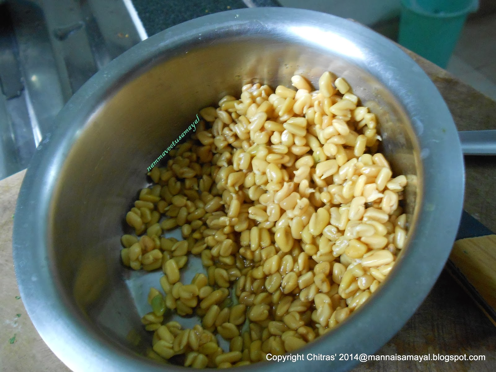 Sprouted Fenugreek