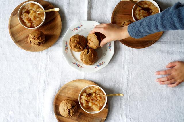 muffins noisettes vegan goûter