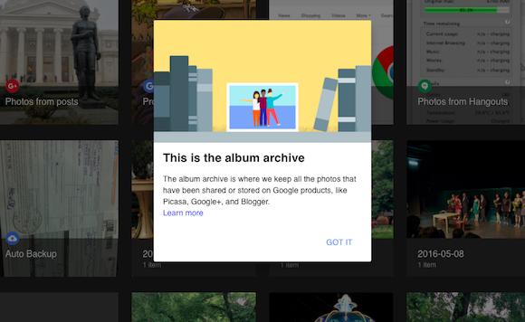 Google Album Archive