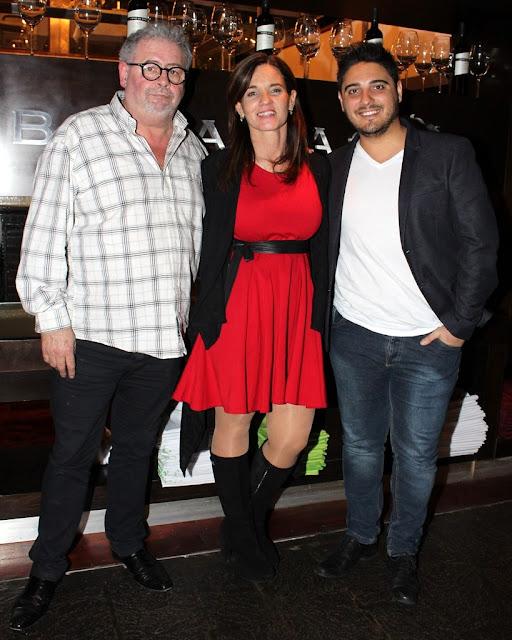 Miguel Calluso, Mariana Decontardi y Hernán Lirio