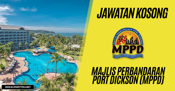 jawatan kosong Majlis Perbandaran Port Dickson (MPPD) 2019