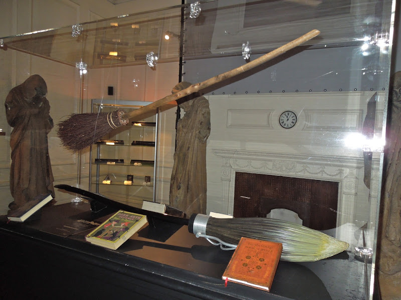 Harry Potter broomstick spell book props