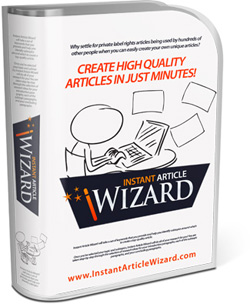 Download instant article wizard and write unique articles