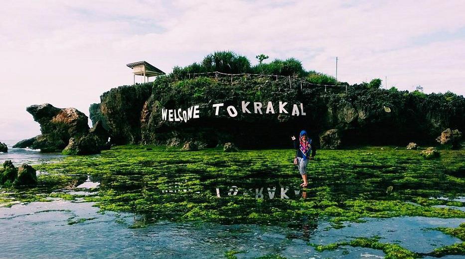 wisata ke pantai Krakal di Welcome to Krakal