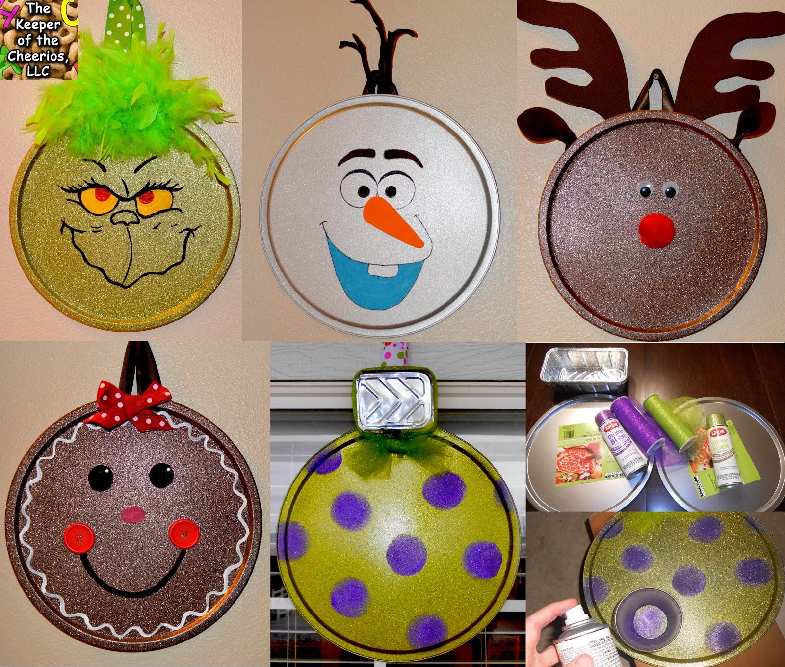 Pizza Pan Ornaments