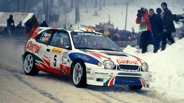 coche rally competicion