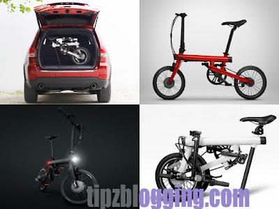 Spesifikasi Harga Sepeda Lipat Mi QiCycle Terbaru 2016