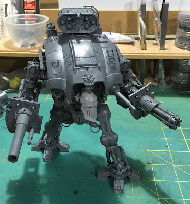 Questoris Mechanicus Knight Crusader WIP