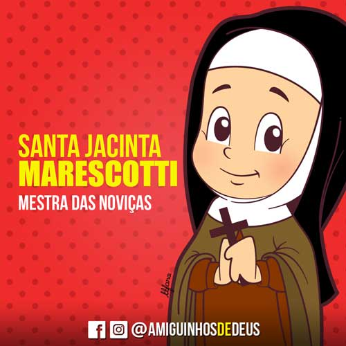 Santa Jacinta Marescotti desenho