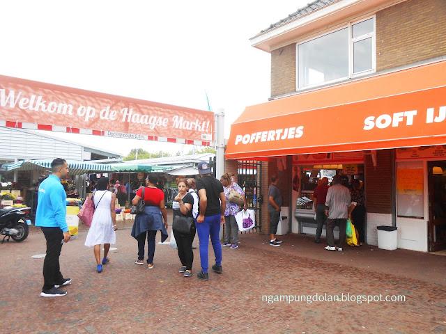 Main Sebentar ke Pasar Den Haag Netherlands