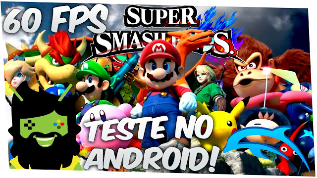 Super Smash Bross no Android com Dolphin Emulator ~ Mod Full Android