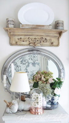 Home Chic Club 5 Minute Fall Vignette