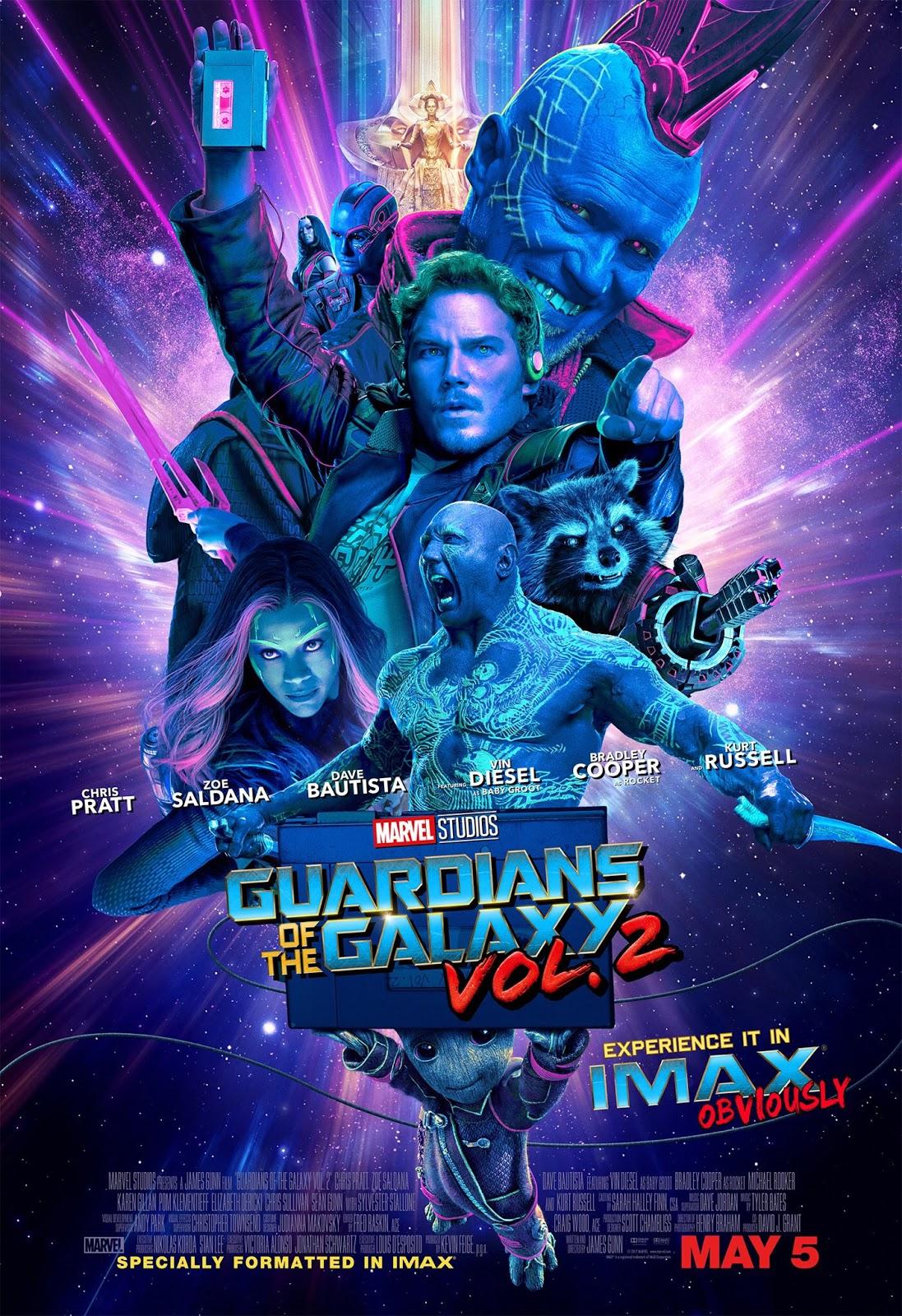 клевый постер Стрежей Галактики 2