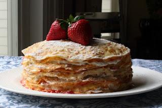 Strawberry Crepe Cake – Works on So Many Levels