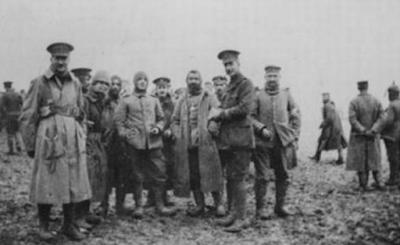 Tregua de Navidad 1914, Iª Guerra Mundial