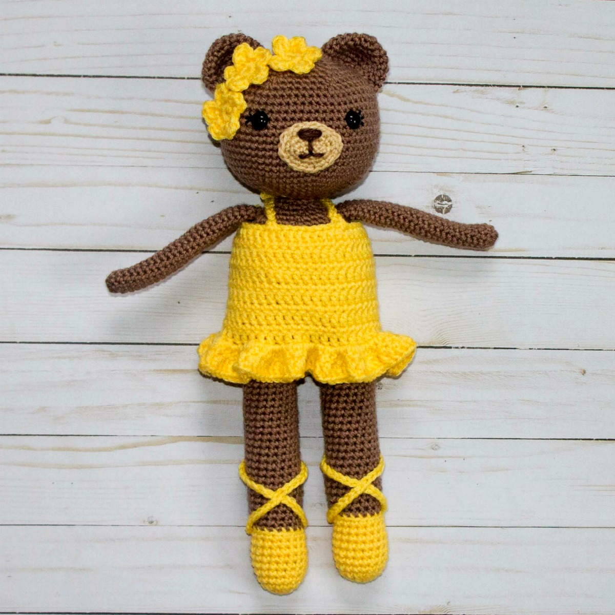 Crochet Ballerina Bear Free Pattern : Free Crochet Bear Ballerina Pattern - The Friendly Red Fox