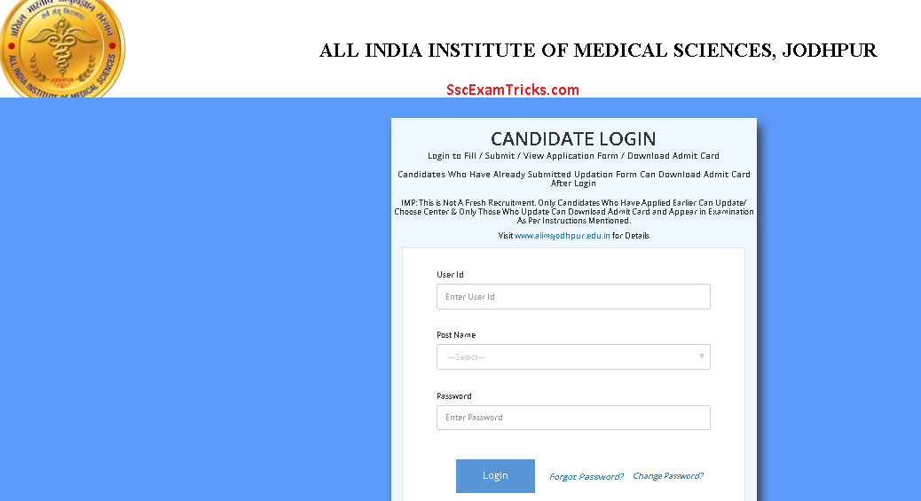 AIIMS Jodhpur Rajasthan Admit Card/Result 2017 Call Letters ... on application error, application meaning in science, application service provider, application to join a club, application for scholarship sample, application to date my son, application to rent california, application to be my boyfriend, application approved, application for employment, application in spanish, application clip art, application cartoon, application template, application for rental, application database diagram, application insights, application trial, application to join motorcycle club, application submitted,