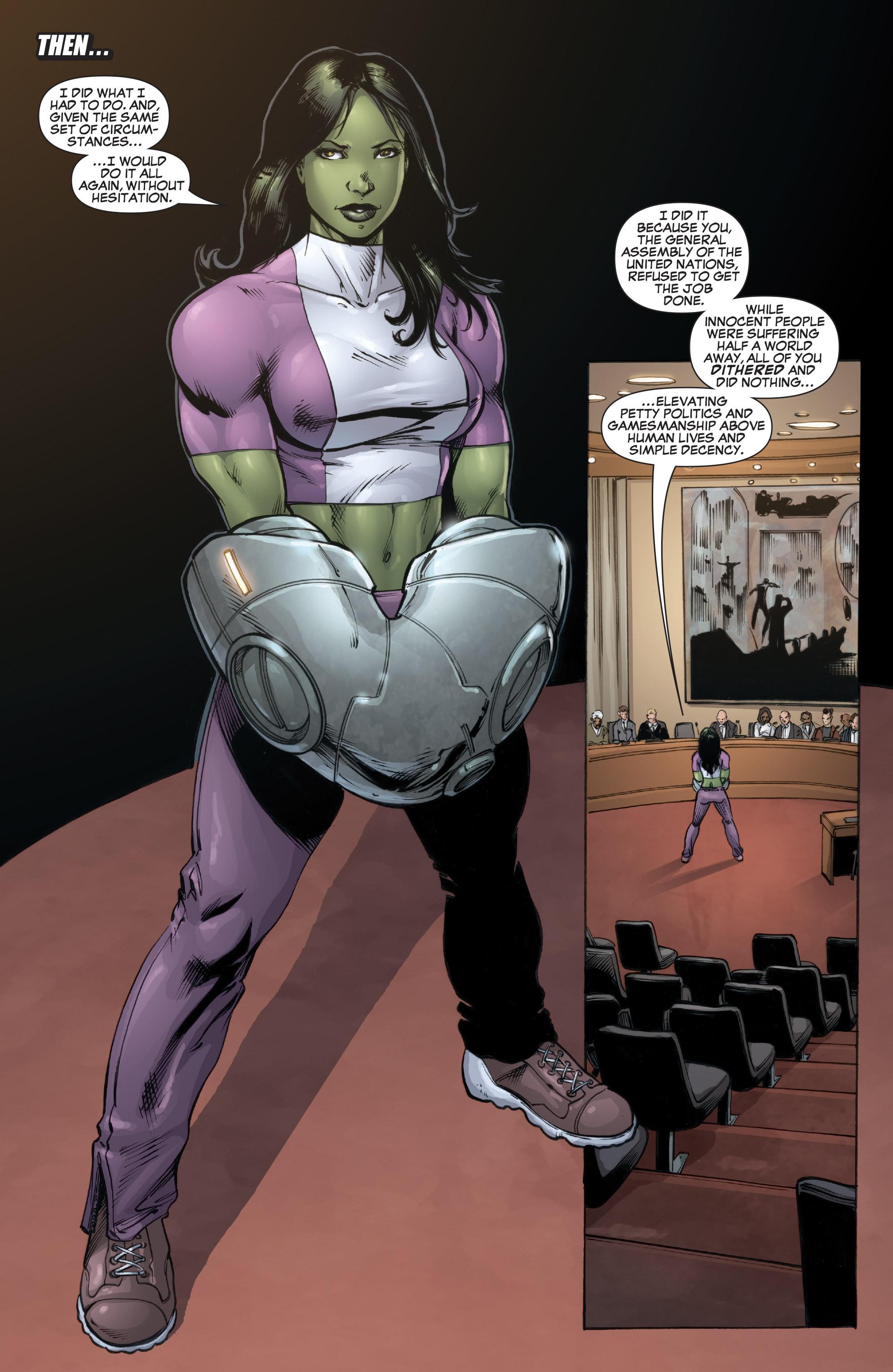 Read online She-Hulk (2005) comic -  Issue #37 - 4