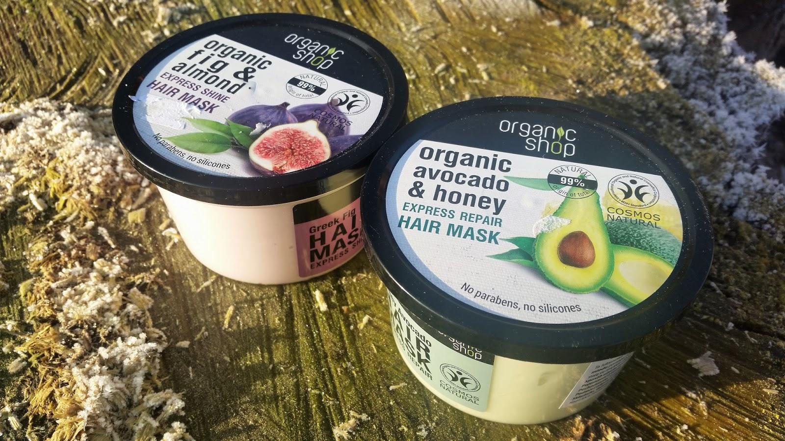 Hit stycznia! Maseczki Organic Shop