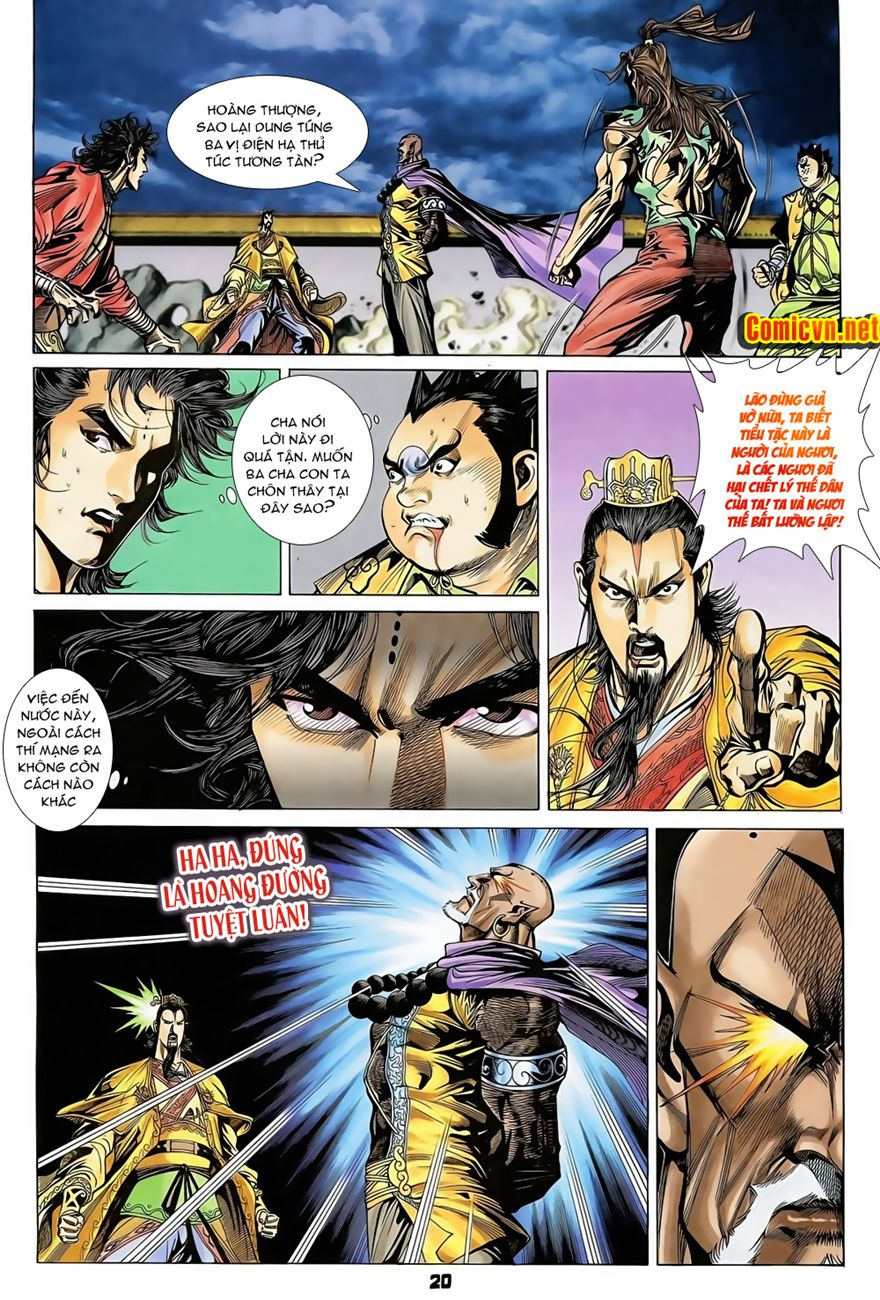Đại Đường Uy Long chapter 71 trang 20