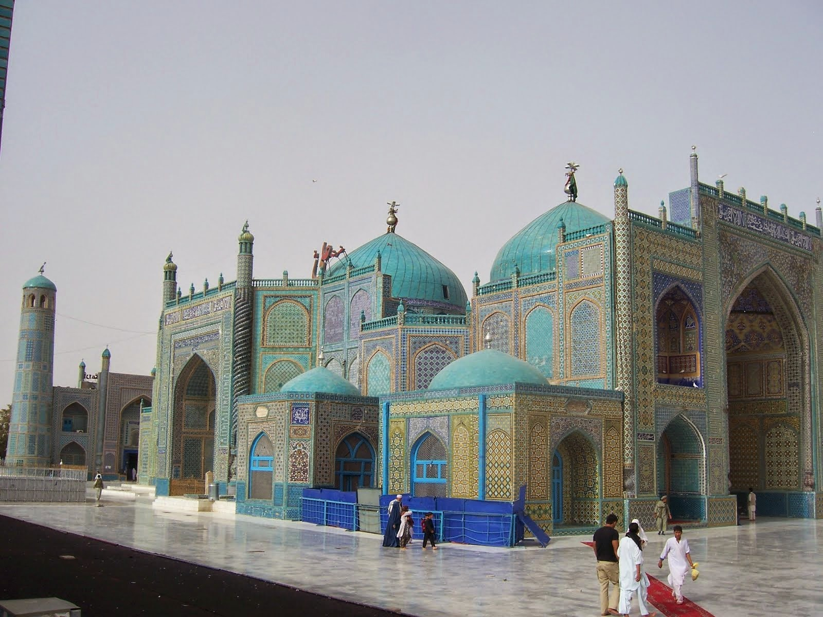 Hazrat Ali the Blue Mosque - Afghanistan - Islamic Finder - Lectures