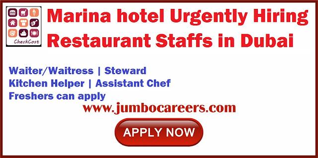 Restaurant Staffs in Dubai