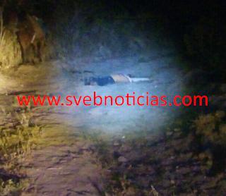 Ejecutan a balazos a un hombre en Cerro Gordo Veracruz