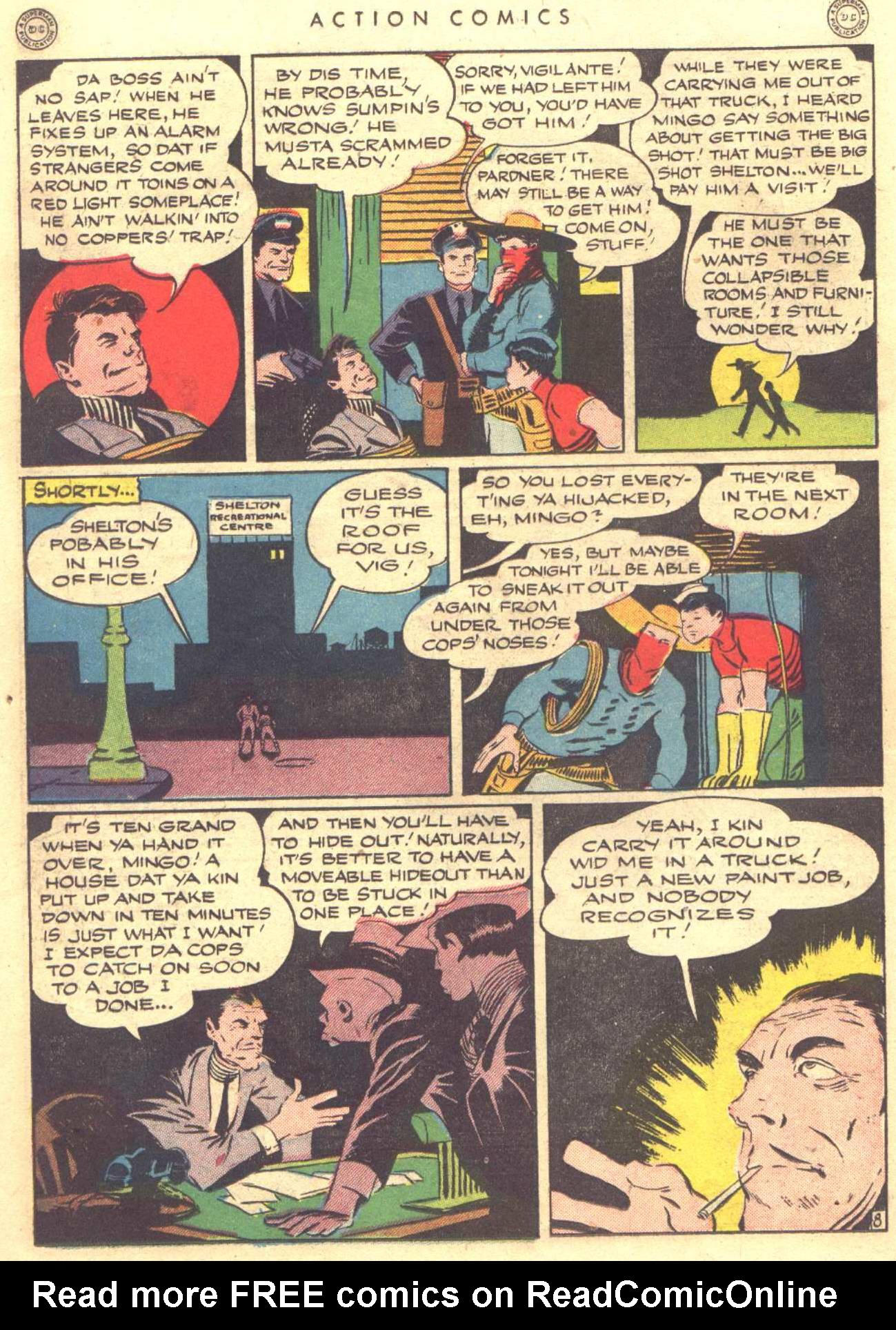 Read online Action Comics (1938) comic -  Issue #81 - 38