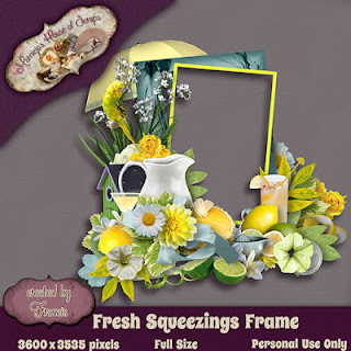 Creative Team for Marniejo House of Scraps Fresh Squeezings 40 off and Coordinating Freebie