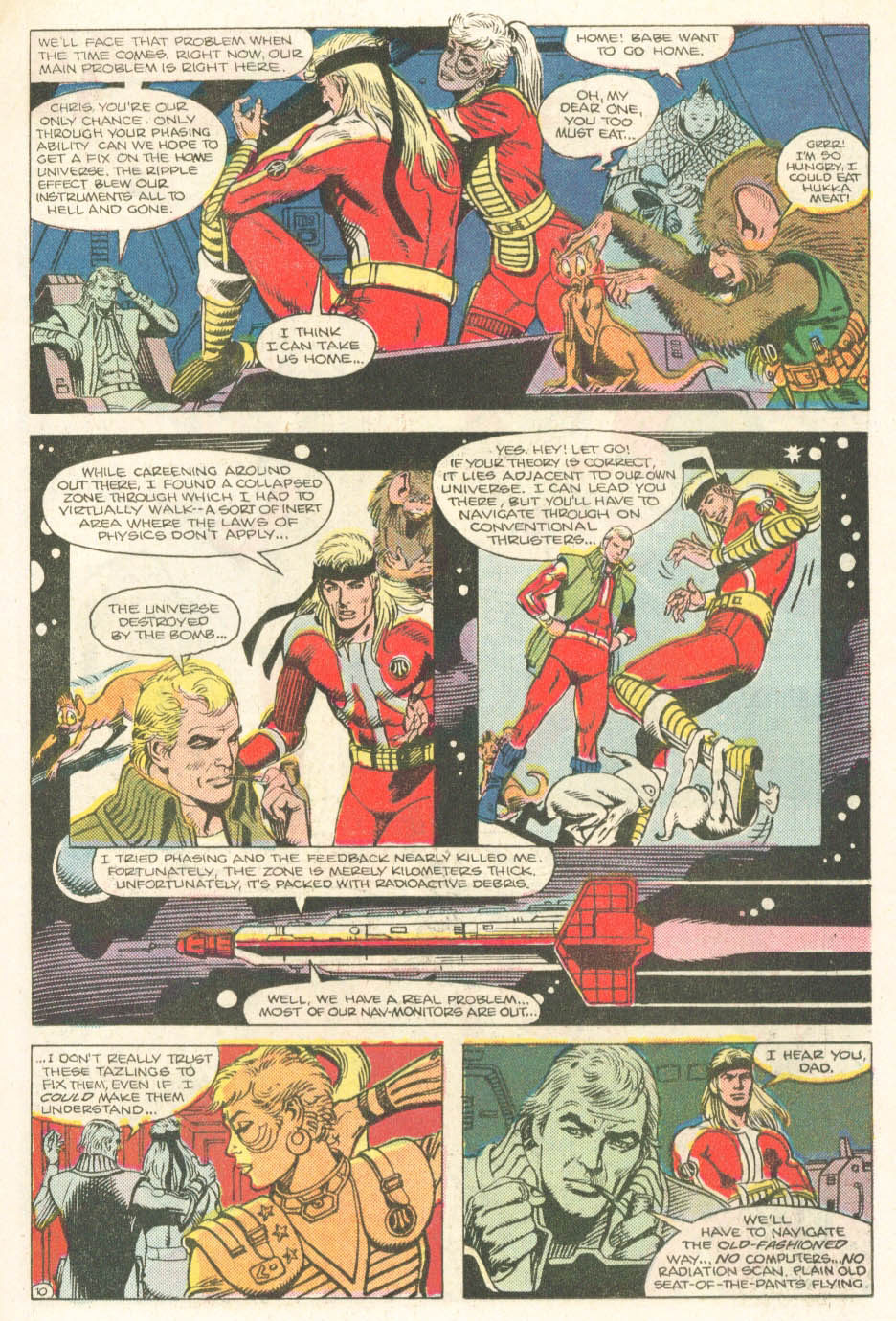 Read online Atari Force (1984) comic -  Issue #18 - 12