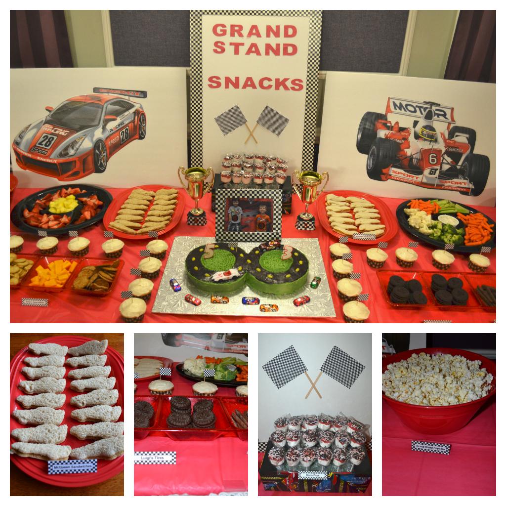 Race Car Theme Party Foods