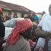 Photos: Fayose distributes tuber of yams to Ekiti state residents
