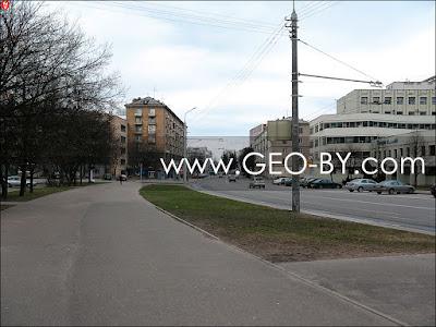 Минск. Улица Мясникова