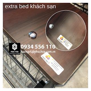 Khung giường extra bed khách sạn của Phúc Hòa