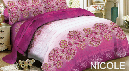 Sprei Red Rose Nicole