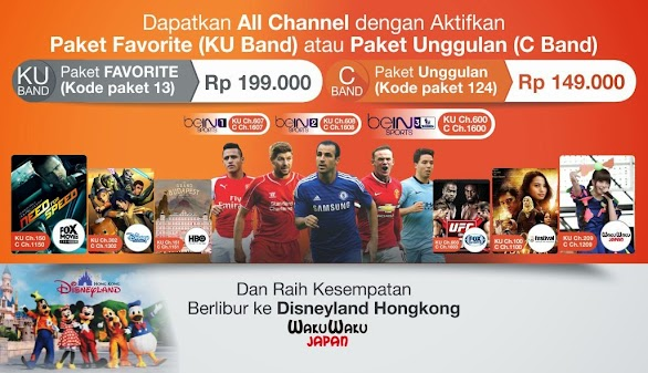Promo Paket Orange TV All Channel