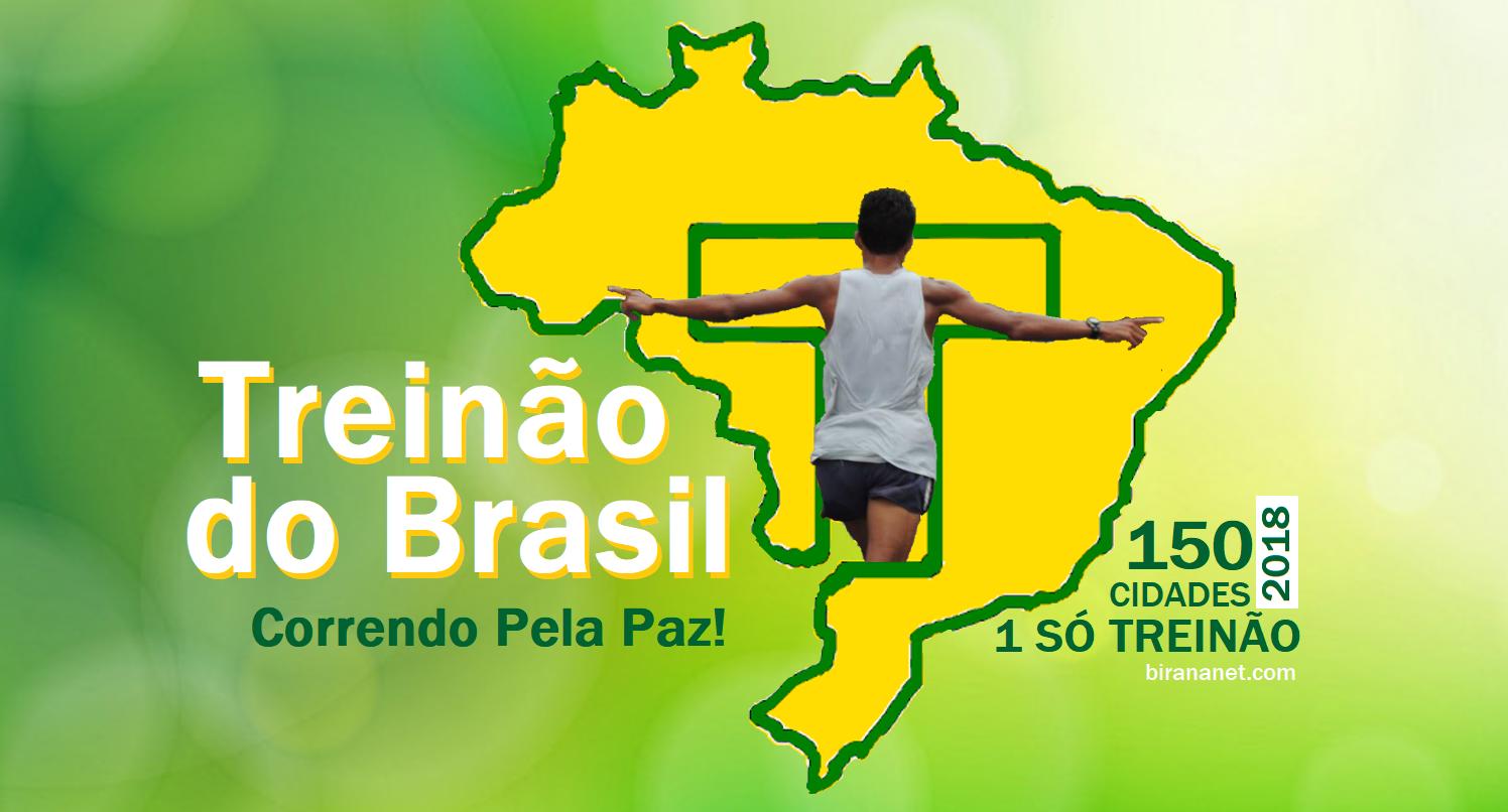 GRUPO TREINÃO DO BRASIL - CORRENDO PELA PAZ