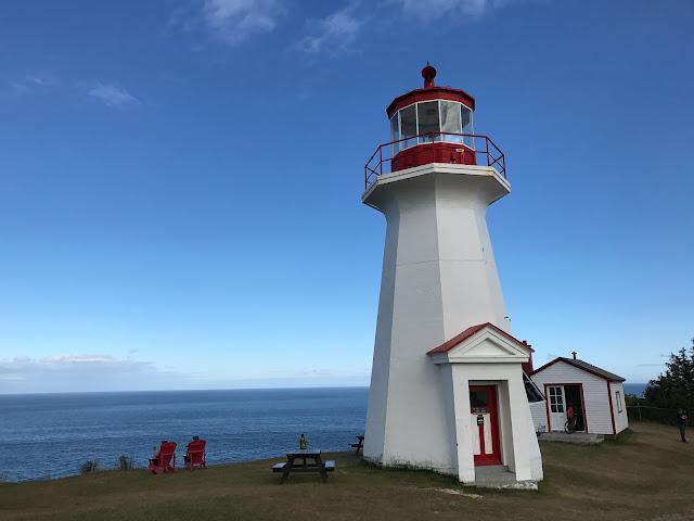 phare du Cap Gaspé Québec