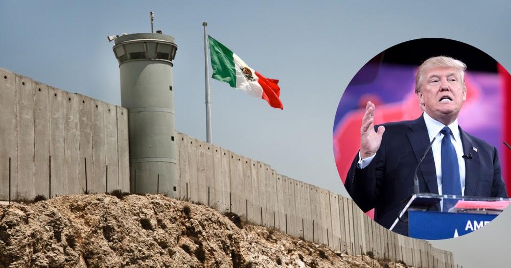 Mexiko will Grenzmauer zu den USA errichten, falls Trump Präsident wird