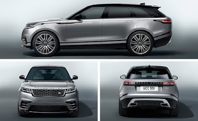 New 2018 Range Rover Velar SUV three angle Hd Images