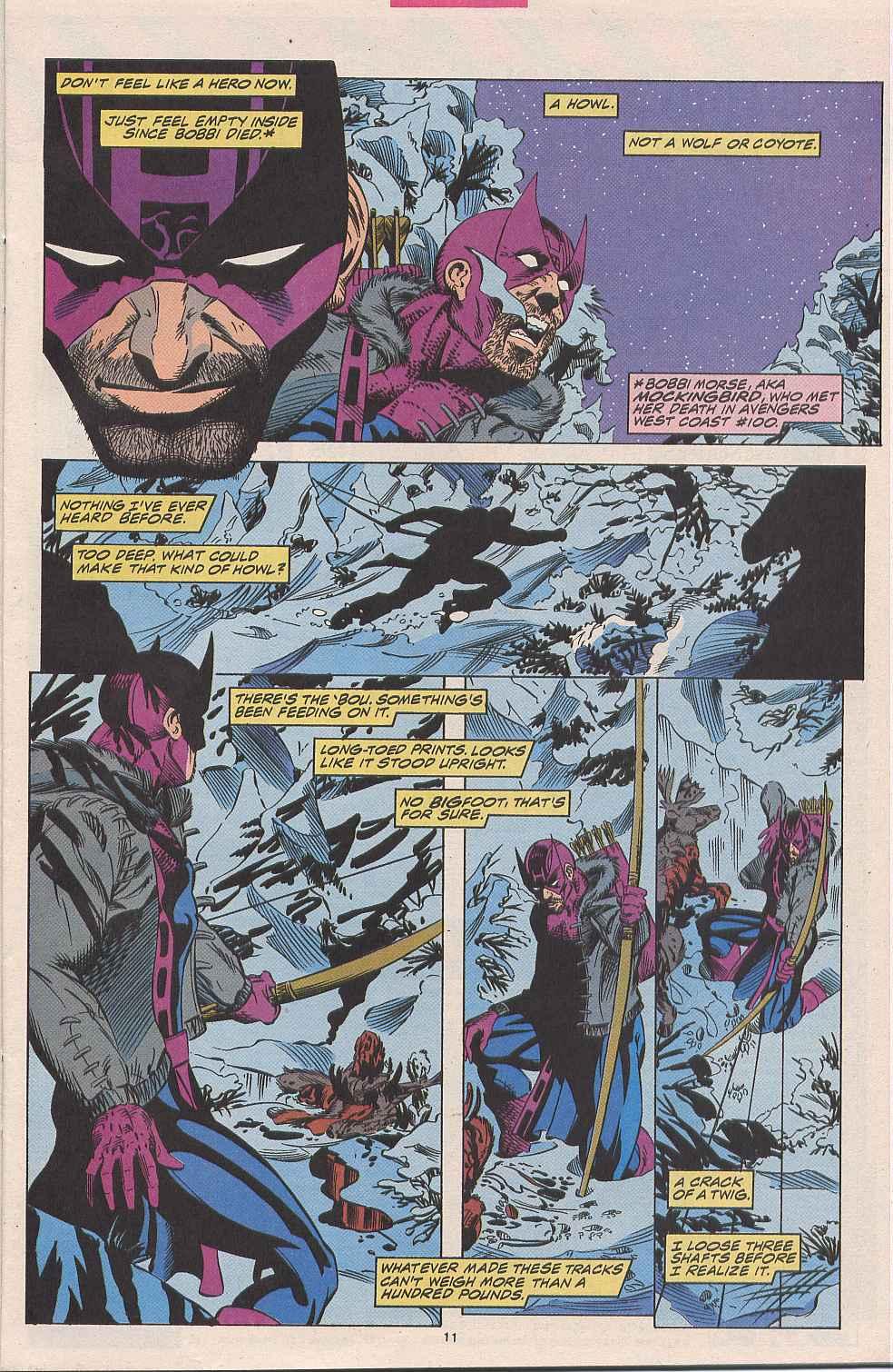 Hawkeye (1994) Issue #1 #1 - English 9