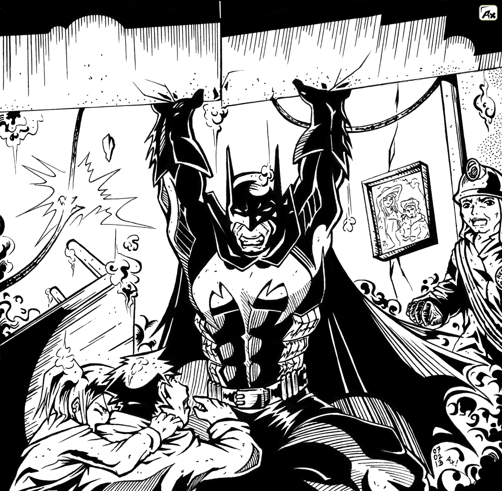 JUDUL fanart BW another BATMAN scene_by Ax ! [size 50%]