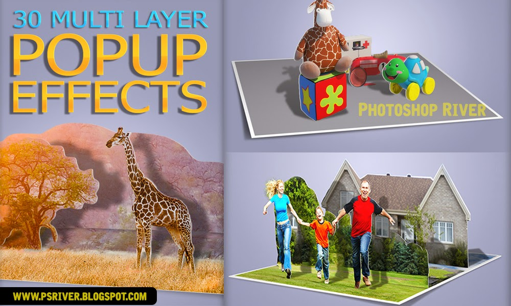 3d photoshop action free download (3d-effects) | actions for photoshop.