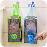 Keep Your Garbage bags Orgainise With Plastic Bag Dispenser