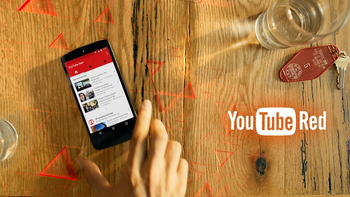 "Google Wants You To ""Meet YouTube Red"""