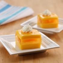 cara membuat puding orange custard