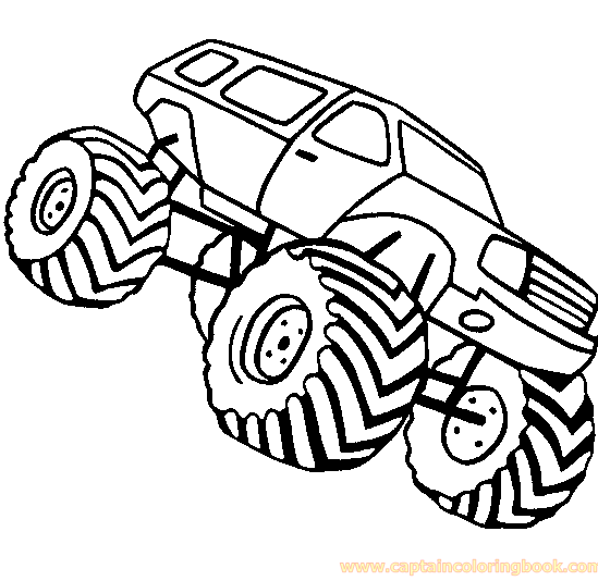 Trucks Coloring Page Free Download
